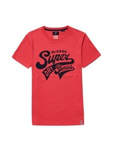 Superdry - Collegiate Graphic Tee -paita - 5DN FUTURE FUCHSIA   Stockmann
