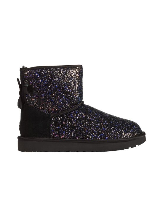 UGG - Classic Mini Cosmos Bow -nilkkurit - BLACK | Stockmann - photo 1
