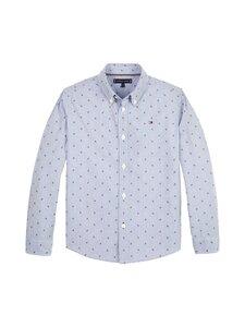 Tommy Hilfiger - Mini Dobby Clipping Shirt -kauluspaita - 0A4 BLUE STRIPE CLIPPING   Stockmann