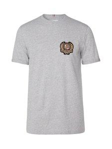 Les Deux - Egalité T-Shirt -paita - 310000-LIGHT GREY MELANGE WITH MULTICOLOR ARTWORK | Stockmann