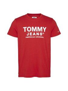 Tommy Jeans - Tjm Essential Front Logo Tee -paita - XNL DEEP CRIMSON | Stockmann