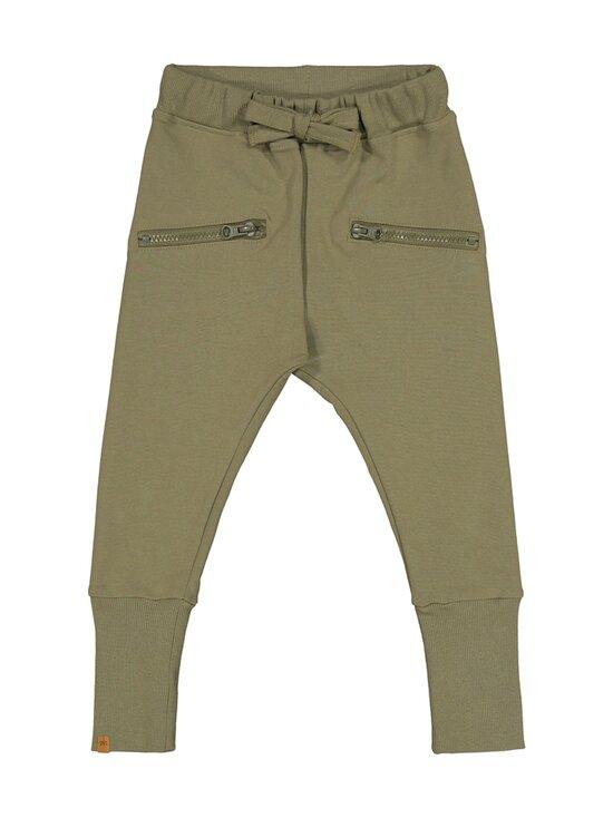Metsola - Zipper Pants -collegehousut - 32 OLIVINE | Stockmann - photo 1