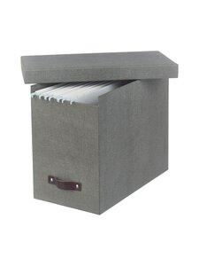 Bigso Box - Johan File -säilytyslaatikko - C64 GREY | Stockmann