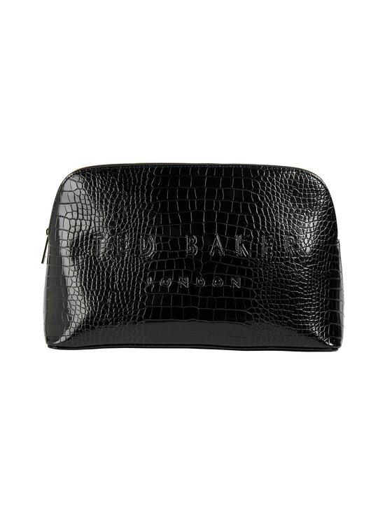Ted Baker London - Crocana Croc Detail -meikkilaukku - BLACK | Stockmann - photo 1