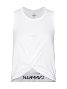Calvin Klein Performance - Slim Gym Tank Top -treenitoppi - 100 BRIGHT WHITE | Stockmann