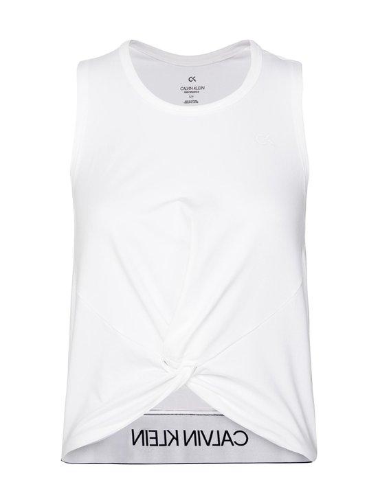 Calvin Klein Performance - Slim Gym Tank Top -treenitoppi - 100 BRIGHT WHITE | Stockmann - photo 1