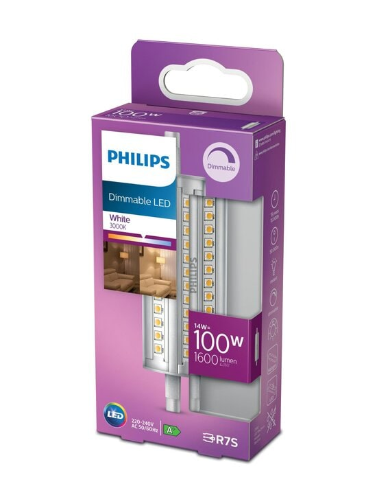 Philips - LED Spot 100W R7S Dimming -spottilamppu (himmennettävä) - WHITE | Stockmann - photo 1