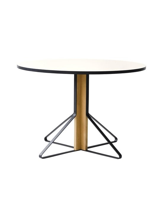 Artek - REB004 Kaari-pöytä, HPL - GLOSSY WHITE/NATURAL OAK (VALKOINEN/TAMMI) | Stockmann - photo 1