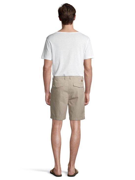 Lyle & Scott - Cotton Linen Walkshort -shortsit - Z151 STONE | Stockmann - photo 3