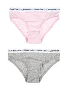 Calvin Klein Kids - Modern Cotton -alushousut 2-pack - GREY/UNIQUE | Stockmann
