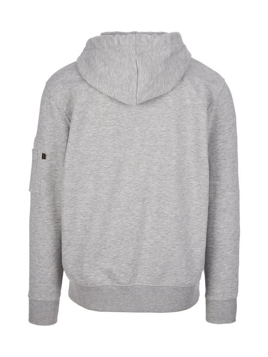 Alpha Industries - X-Fit Hoodie -huppari - GREY HEATHER 17 | Stockmann - photo 2