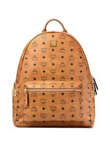 MCM - Stark Side Studs Backpack in Visetos -reppu - CO COGNAC   Stockmann