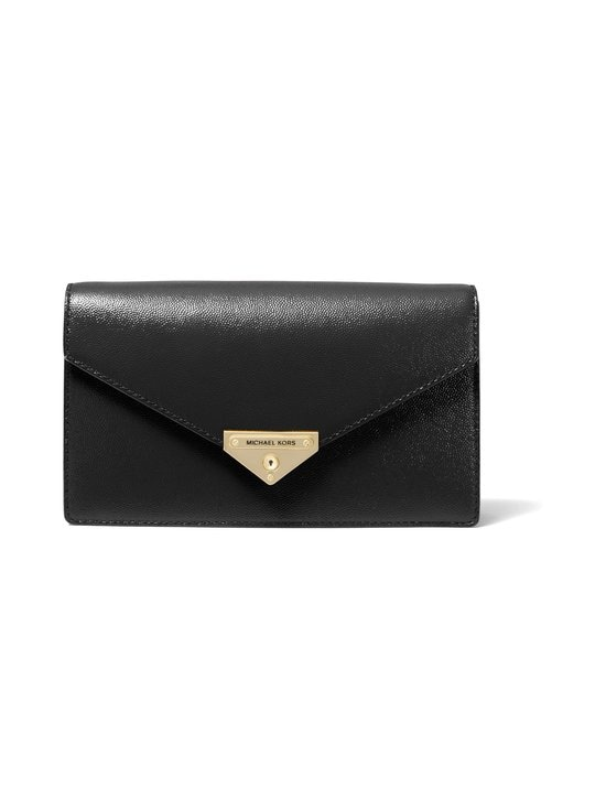 Michael Michael Kors - Grace Clutch -nahkalaukku - 001 BLACK | Stockmann - photo 1