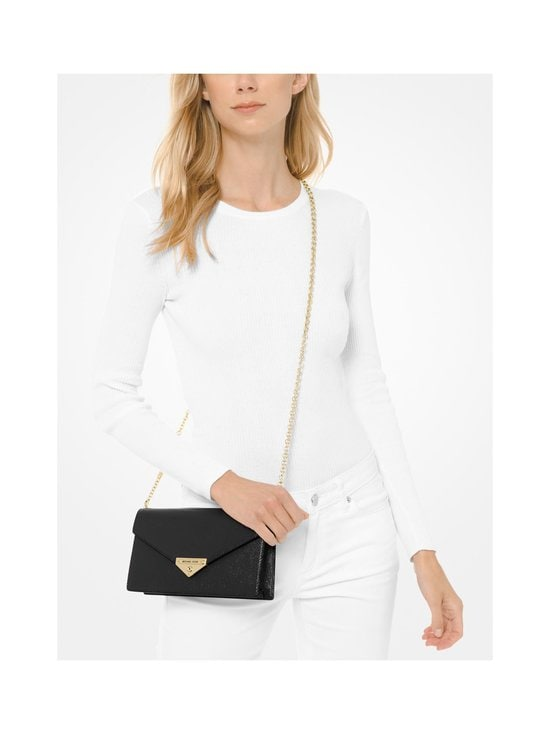 Michael Michael Kors - Grace Clutch -nahkalaukku - 001 BLACK | Stockmann - photo 4