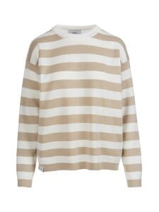 Makia - Willow Knit -paita - BEIGE-WHITE | Stockmann