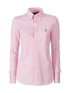 Polo Ralph Lauren - Heidi Skinny Long Sleeve -paitapusero - CARMEL PINK | Stockmann