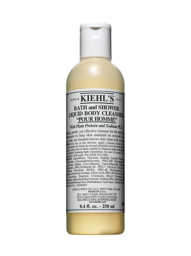 Bath and Shower Liquid Body Cleanser Pour Homme -suihkugeeli 250 ml