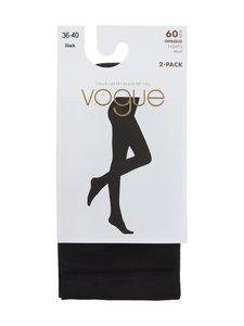 Vogue - Opaque 60 den -sukkahousut 2-pack - 1210 BLACK | Stockmann