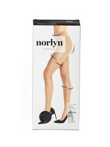 Norlyn - Tights Shimmer Premium Control 20 den -sukkahousut - BLACK | Stockmann