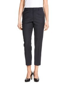 Filippa K - Emma Cropped Cool Wool -housut - DARK NAVY | Stockmann
