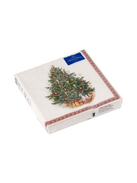 Villeroy & Boch - Winter Specials Fir Tree -servetti 25 x 25 cm - MULTI   Stockmann - photo 1