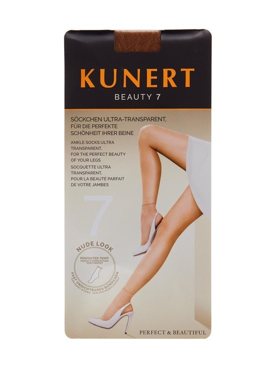 Kunert - Beauty 7 -nilkkasukat - CANDY (VAALEA BEIGE) | Stockmann - photo 1