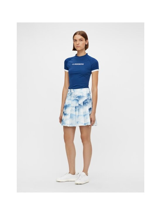 J.Lindeberg - Adina Printed Golf Skirt -hame - O416 CLOUD MIDNIGHT SUMMER BLUE | Stockmann - photo 3