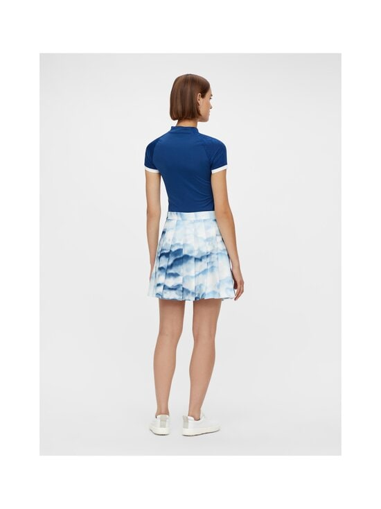 J.Lindeberg - Adina Printed Golf Skirt -hame - O416 CLOUD MIDNIGHT SUMMER BLUE | Stockmann - photo 4