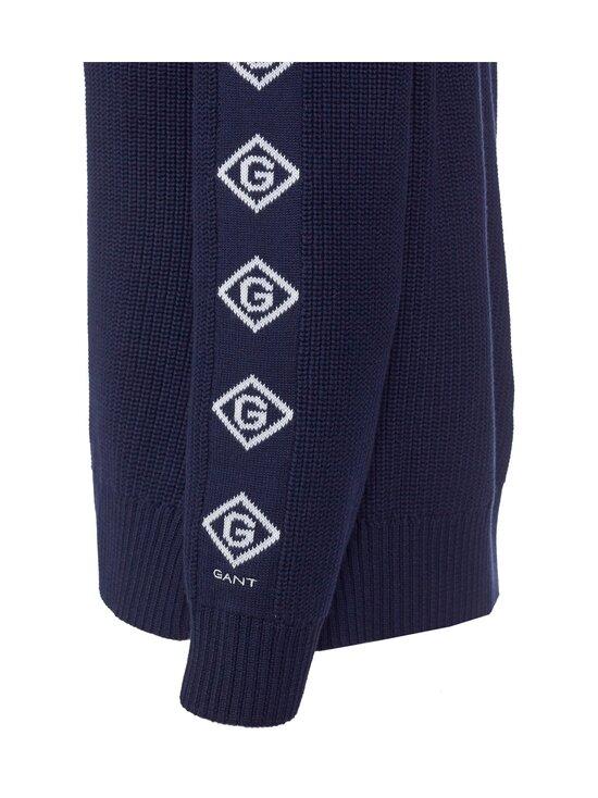 GANT - Detail Sleeve Rib C-Neck -puuvillaneule - 433 EVENING BLUE | Stockmann - photo 2