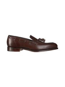Loake - Russell-nahkaloaferit - DK DARK BROWN CALF | Stockmann