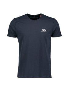 Alpha Industries - Basic T Small Logo -paita - REP.BLUE 07 | Stockmann