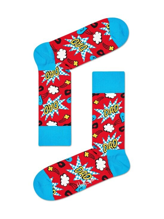 Happy Socks - Super Dad -sukat - 4000 RED | Stockmann - photo 1