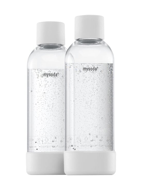 MySoda - Juomapullo 1 l, 2 kpl - WHITE   Stockmann - photo 1