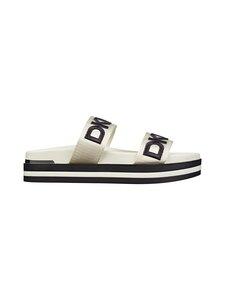 Dkny - Tee Double Band Slide -sandaalit - VA2 - VANILLA/BLK | Stockmann
