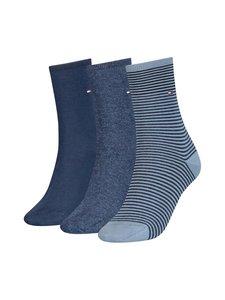Tommy Hilfiger - Sukat 3-pack - NAVY/BLUE 001 | Stockmann