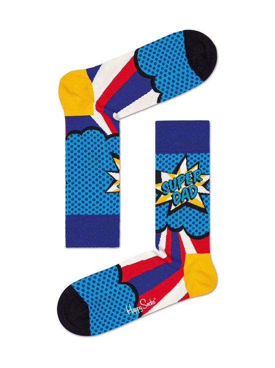 Happy Socks - Super Dad -sukat - 6300-BLUE | Stockmann - photo 1