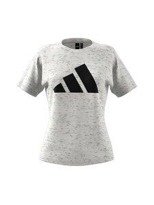 adidas Performance - W Win 2.0 Tee -paita - WHTMEL WHITE MELANGE | Stockmann