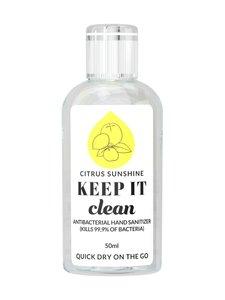 KEEP IT Clean - Citrus Sunshine Antibacterial Hand Sanitizer -antiseptinen käsigeeli 50 ml - null | Stockmann