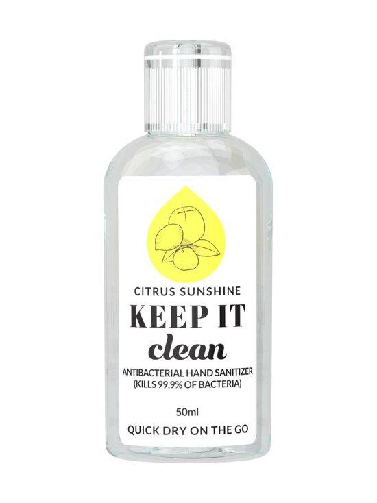 KEEP IT Clean - Citrus Sunshine Antibacterial Hand Sanitizer -antiseptinen käsigeeli 50 ml - NOCOL   Stockmann - photo 1