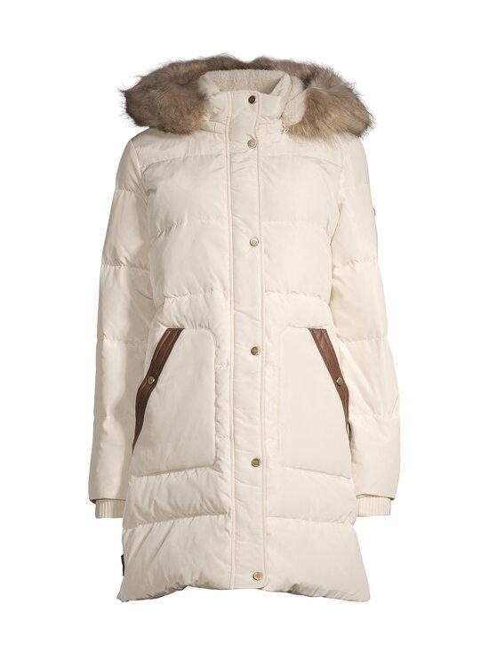 Lauren Ralph Lauren - Down Coat With Hood -untuvatakki - 2XQJ CREAM   Stockmann - photo 1