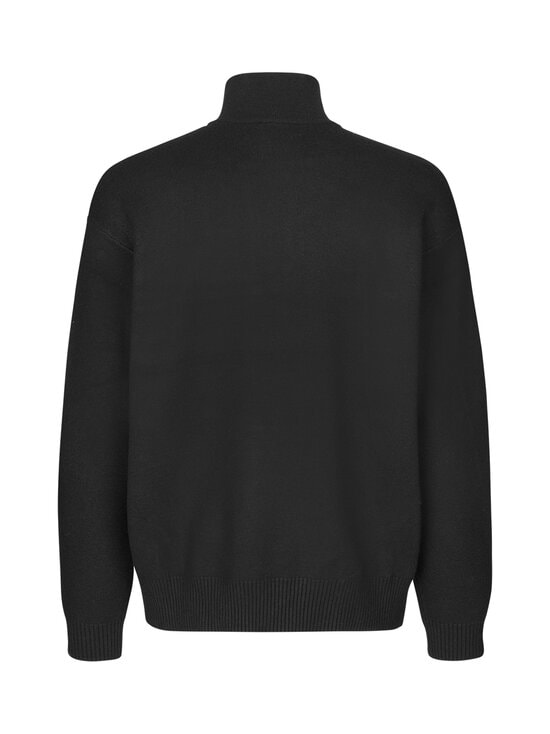Samsoe & Samsoe - Guna Turtle Neck Zip -neule - 00001 BLACK | Stockmann - photo 2