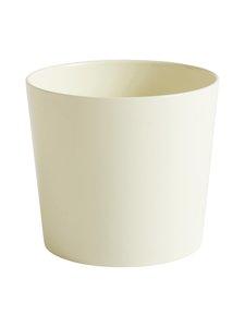 HAY - Botanical Family Pot L -kukkaruukku Ø 18 cm - OFF-WHITE | Stockmann