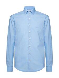 Calvin Klein Menswear - Slim Poplin Stretch Shirt -kauluspaita - 455 LIGHT BLUE | Stockmann