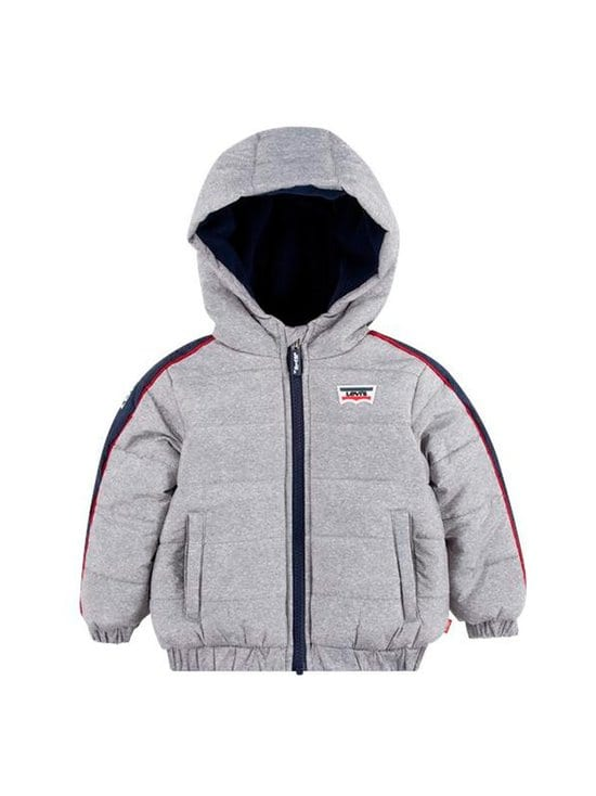 Levi's Kids - LVB Aop Color Block Puffer -takki - GAC OYSTER MUSHROOM | Stockmann - photo 1