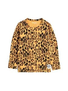 Mini Rodini - Basic Leopard Grandpa -paita - BEIGE | Stockmann