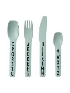Design Letters - Kids Cutlery -aterinsetti - GREEN | Stockmann