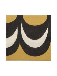 Marimekko - Kaivo-servetti 25 x 25 cm - BLACK | Stockmann