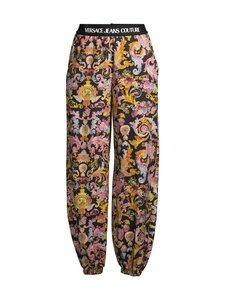 Versace Jeans Couture - Versailles Print Trackpants- housut - 899 NERO | Stockmann