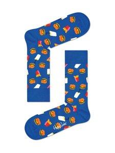 Happy Socks - Hamburger-sukat - 6300-BLUE | Stockmann