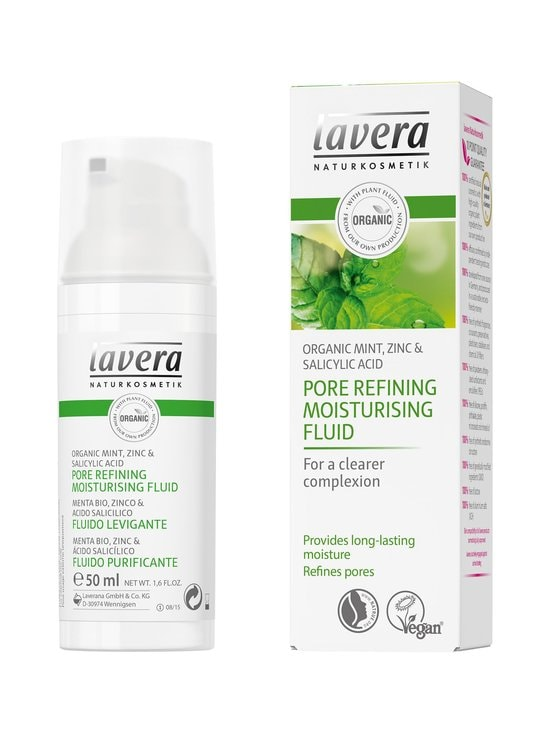 Lavera - Pore Refining Moisturising Fluid -emulsio 50 ml - null | Stockmann - photo 1